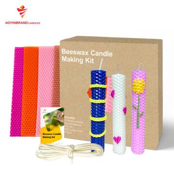 сделать свой собственный набор для изготовления свечей своими руками