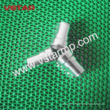 Pieza torneada CNC de alta calidad para el acero inoxidable del sistema del soporte
