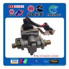 Véritable Dongfeng camion pièces air vanne klaxon électrovanne d'alarme magnétique klaxon d'alarme 3754020-C0300