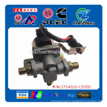 Genuine Dongfeng truck parts air horn alarm magnet valve solenoid valve 3754020-C0300
