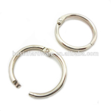 Fashion High Quality Metal Wholesale Hinged Split Binder Ring