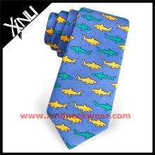Cravate imprimée d'anime de conception faite sur commande