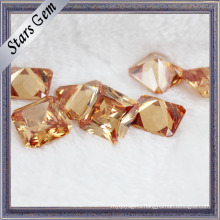 Shinning Brilliant Square Shape Zircon Gemstones