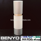 Fast delivery cosmetic empty airless bottle with sliver cap