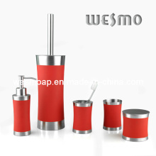 High-End Stainless Steel Bathroom Set