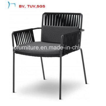 Сад Обедая мебель стула ротанга с валиком ткани (CF1480C)
