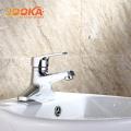 Dual hole bathroom brass body deck mounted bathtub water tap