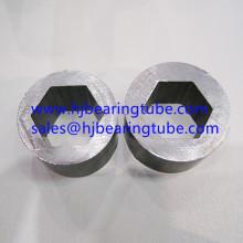 Inneres sechseckiges äußeres rundes Baustahlrohr