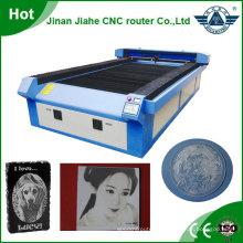 Plus grand travail taille cnc imprimante laser, machines de découpage de tissu 1325 automatique d'alimentation