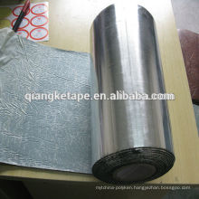 metal car's soundproof & insulation silver aluminum self adhesive butyl tape