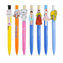 Custom Cartoon Clip Ball Pen