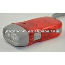 3LED Dynamo Taschenlampe