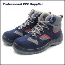 Zapatos de seguridad Ce de cuero genuino estilo deportivo ligero
