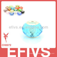 2013 cuentas de cristal en la pulsera a granel