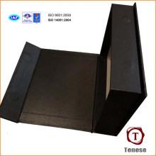 Caja de regalo de cartón rígido de papel de alta calidad con impresión de plata