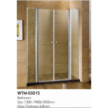Sample Shower Door for Bathroom Wtm-03D15