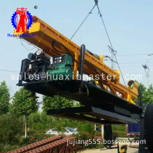 Hot 13.5 Meters Wheeled Pile Driver bore hole drilling machine rig
