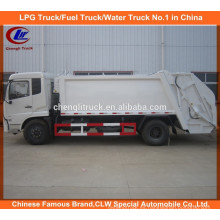 Dongfeng Ordures compacteur Camion compactador de basura