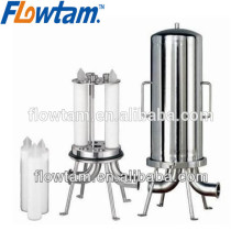 stainless steel micron filter housing