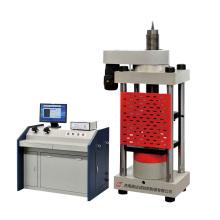Machine d'essai de compression hydraulique de gestion par ordinateur