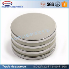 Powerful round neodymium magnets N45M extra strong magnets for car motor