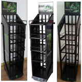 Pop up Metal Drinks Display Stand (CTS-D-007)