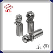 Válvula Borboleta Pneumática Sanitária Aço Inoxidável