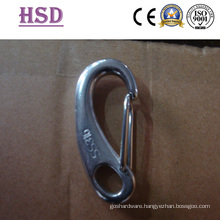 Eye Spring Hook, Stainless Steel