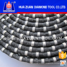 11.5mm Rubber Diamond Wire Saw for Stone Cutting