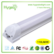 T8 T5 tubo transparente tampa 24v dimmable 9W LED tubo