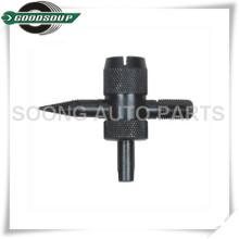 Black 4 in 1 Tire valve core repair tool, Valve core extracting tool