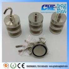 Strong D32X7mm High Quality Neodymium Permanent Pot Magnet