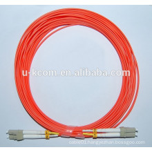 LC/LC Duplex MM Fiber Optic Patch Cord