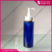 120ml 150ml Aceite Limpiador Botella Azul PET