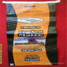 Emballage de farine de sac tissé en PP stratifié BOPP