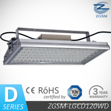 120W High Lumen LED Gas Station Canopy Light with CE/RoHS Certificated