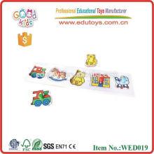 2015 juguetes educativos de animales de granja rompecabezas CE juguetes de madera