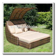 Audu Rattan Queen Cheap Outdoor Double Daybed