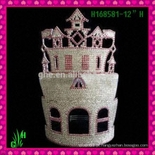 Atacado New Designs Rhinestone Crown, Hot Crown