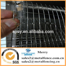 гальванизированная сваренная ячеистая сеть цыпленка кролик серебряный забор