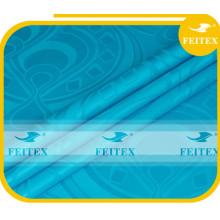 Новое Прибытие ткани синее платье Кабо ткань Жаккард хлопок Базен riche Африканского текстиля для свадьбы FEITEX