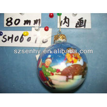2013 прозрачного стекла мяч ваза