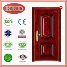 Puerta de acero de entrada de lujo KKD-332 apartamento residencial