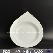 Vente chaude pas cher en forme irrégulière vaisselle