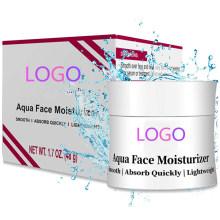 Custom Natural Anti Aging Aqua Face Moisturizer Cream for Women