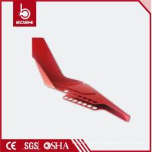 Interruptor estándar de la tubería de la cuña pequeña Cerradura de la llave de seguridad válvula, bloqueo estándar de la válvula de bola BD-F04