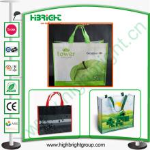 Polyester Faltbare Einkaufstasche Benutzerdefinierte Einkaufstasche Großhandel