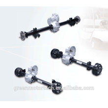 EV drive axle with hydraulic braking