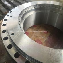 Acabamento de usinagem de peças de válvula de esfera de fechamento
