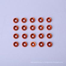 Алюминиевая шайба круглой формы с потайной головкой без резьбы